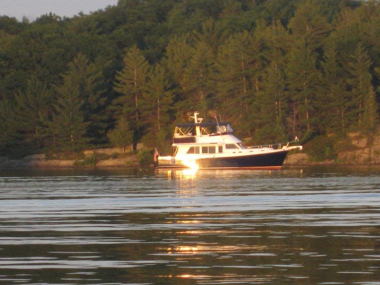 "The Motor Vessel ""Once Around"", an Ocean Alexander 45' Classico Sedan"