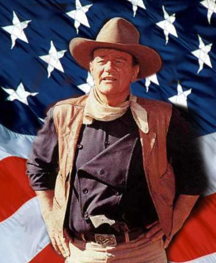 john wayne thumbs up