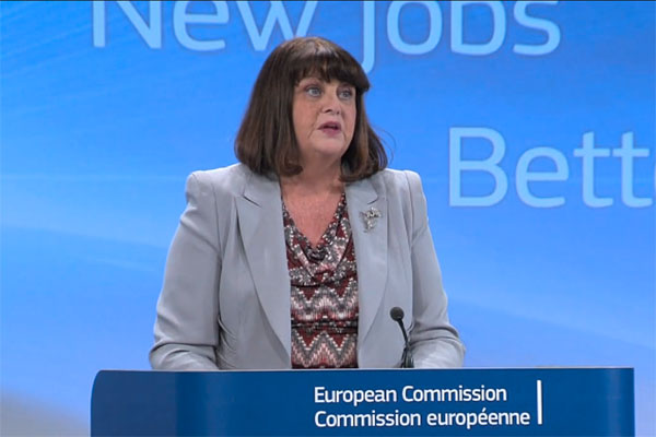 Máire Geoghegan-Quinn, European Commissioner for Research, Innovation and Science