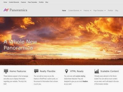 Panoramica  Portfolio WordPress Theme