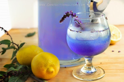 Lavender lemonade to eliminate the headache and treat anxiety symptoms treatment
