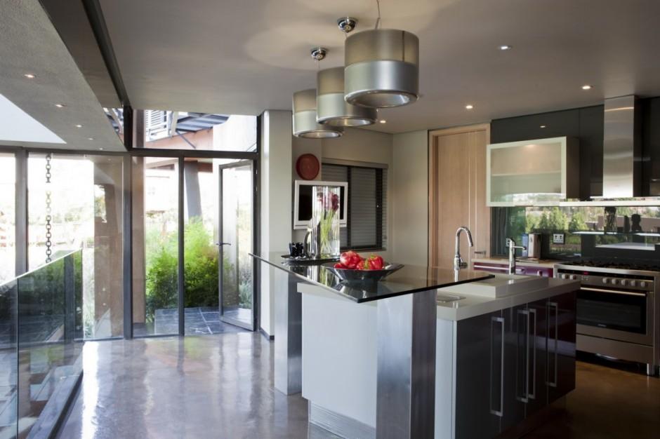 Luxury modern mansion in pretoria south africa by for Designer kitchens pretoria