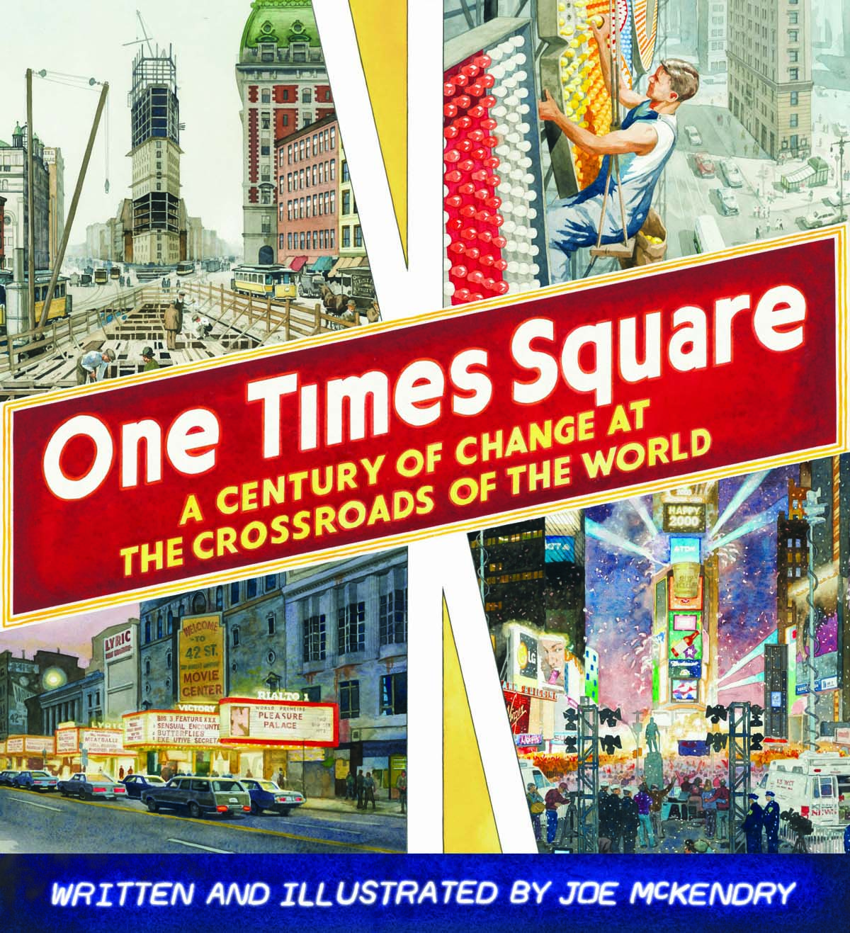 One Times Square by Joe McKendry