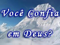 Você confia em Deus?
