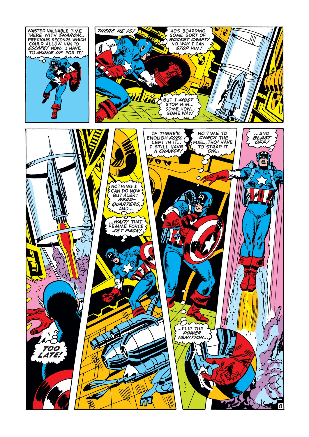 Captain America (1968) Issue #147 #61 - English 9