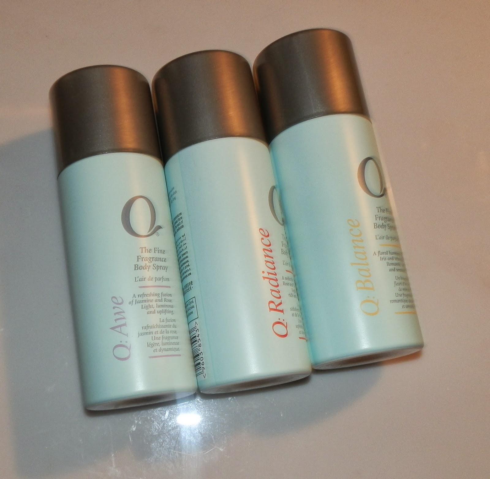 Q The Fine Fragrance Body Spray Reviews