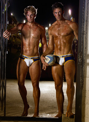 sexy men in timoteo rugby underwear