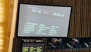 Hasil Voting Perserikatan Bangsa-Bangsa (PBB)