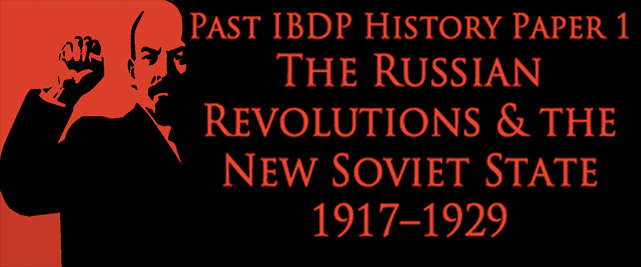 russian revolutions and the new soviet state