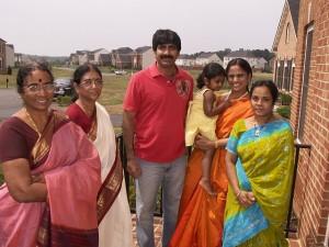 Ravi Teja family