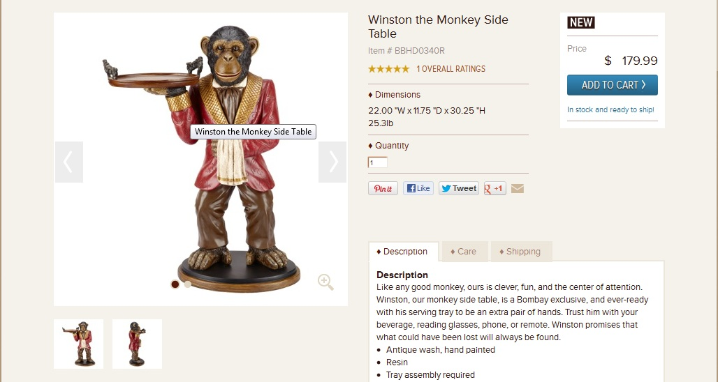 I Just Want A Monkey Butler. Why Is That Too Much To Ask For?