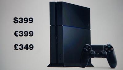 Precio de salida de Playstation 4