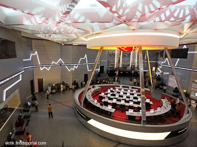 Trading Floor Bursa Efek Indonesia
