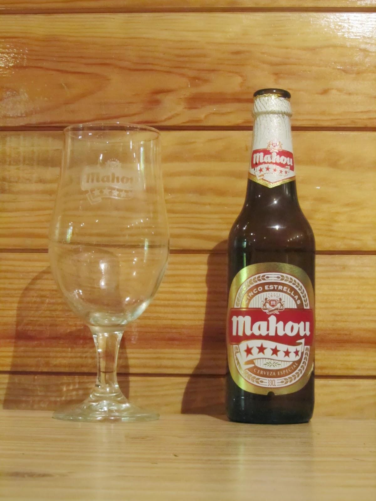 Nuestra colecci n de cervezas copa cerveza mahou cinco for Copa cerveza