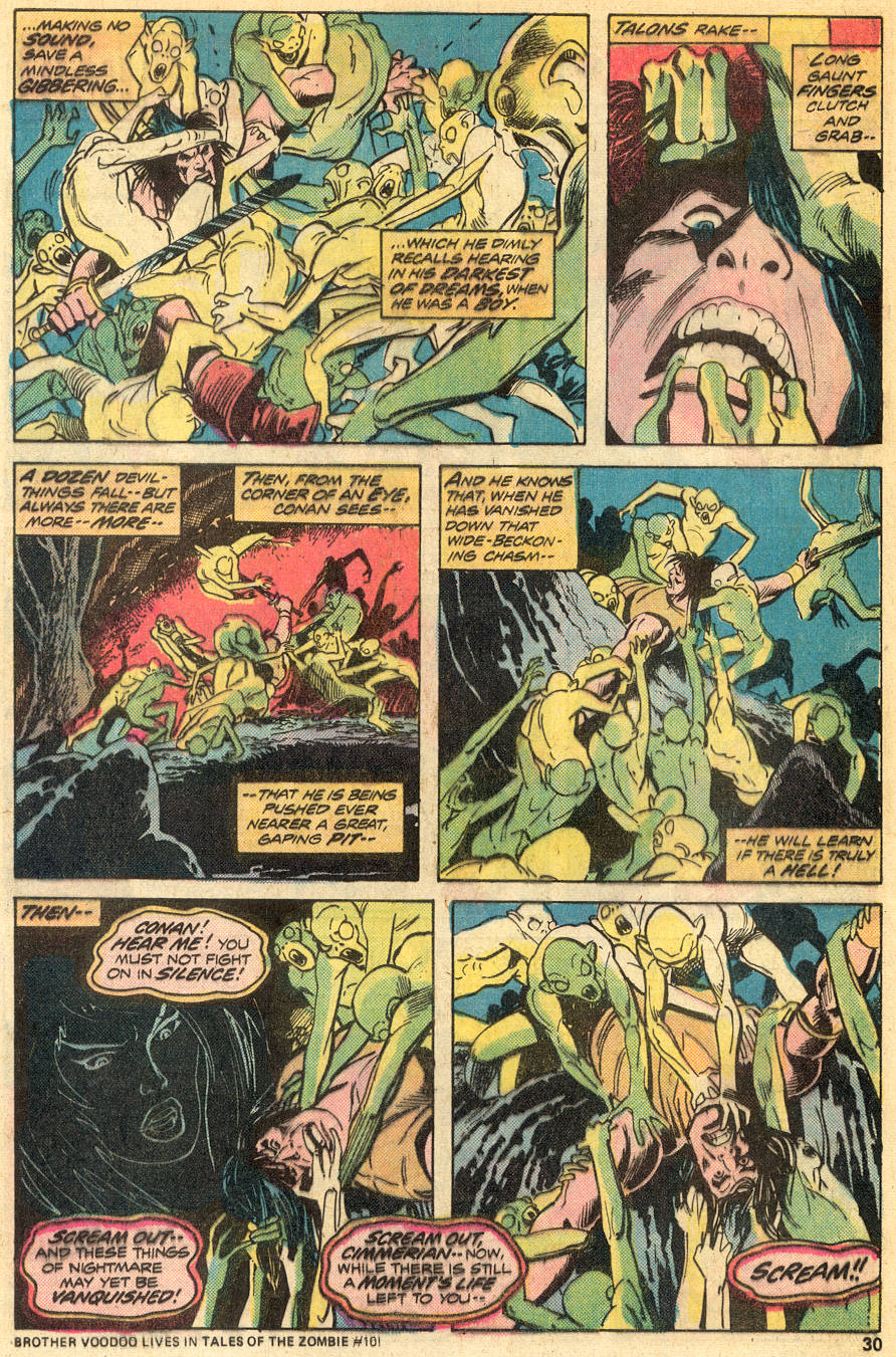 Conan the Barbarian (1970) Issue #50 #62 - English 18