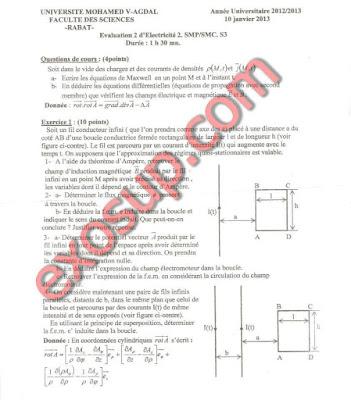 ContrôlesEléctricité II SMP-SMC S3 FSR UM5A