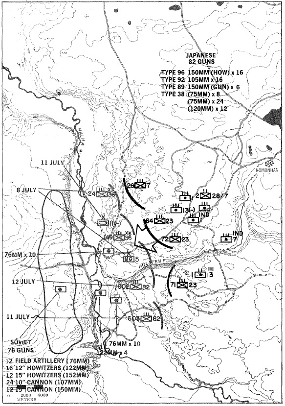 graphic firing table decisive battles khalkhin gol nomonhan 1939 105Mm Howitzer Firing on 23 jul 23rd id kicked off another offensive this time a division sized deliberate attack with nasty memories of the devastating soviet steel rain of