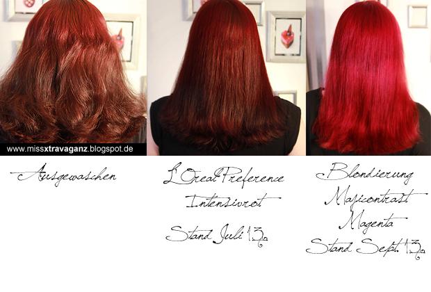 Rote haarfarbe rauswachsen lassen