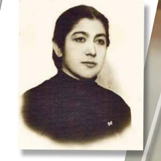 Нажиба Ихсанова, фотография в молодые годы