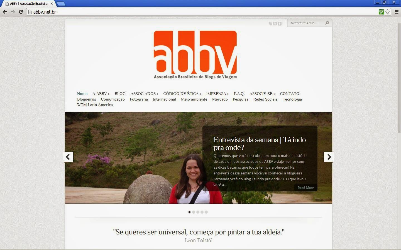 entrevista no site da ABBV