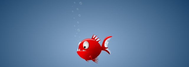 Red Angry Fish