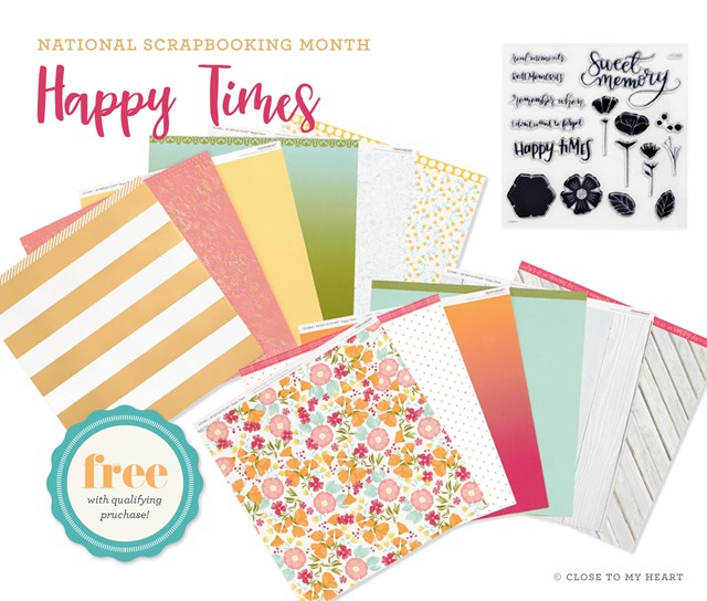 Celebrate National Scrapbooking Month!