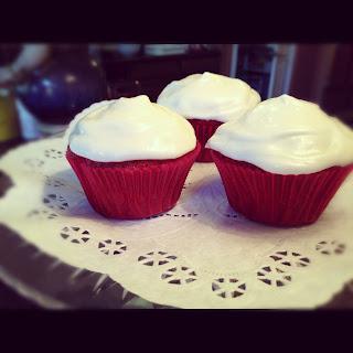 Paula Deen's Red Velvet Cupcakes
