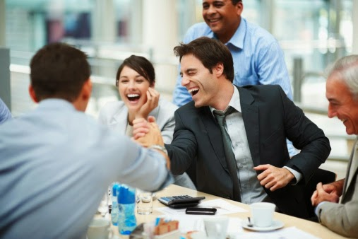 Jokey team meetings are more productive, as long as people laugh along