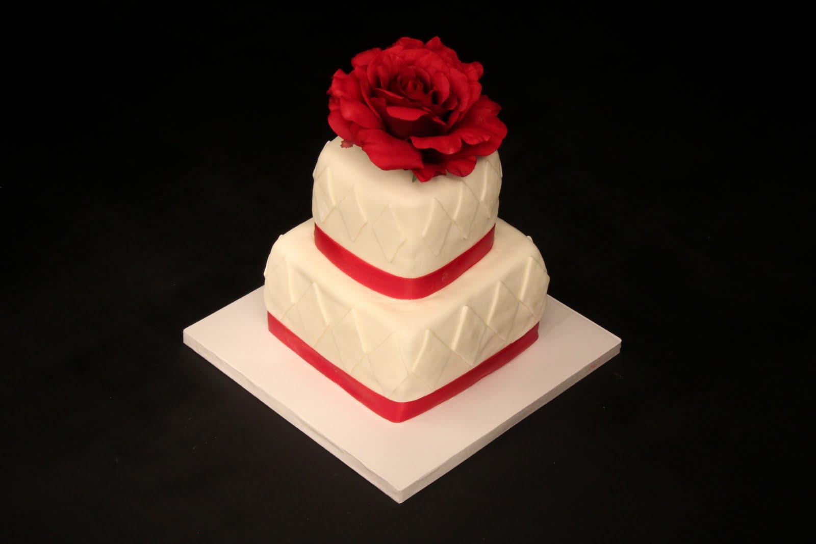 Heather Calvin Cakes: Small wedding cake