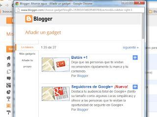 Como Poner Un Gadget En Mi Blog