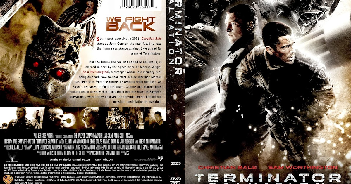 terminator salvation 2009 movie poster and dvd cover art