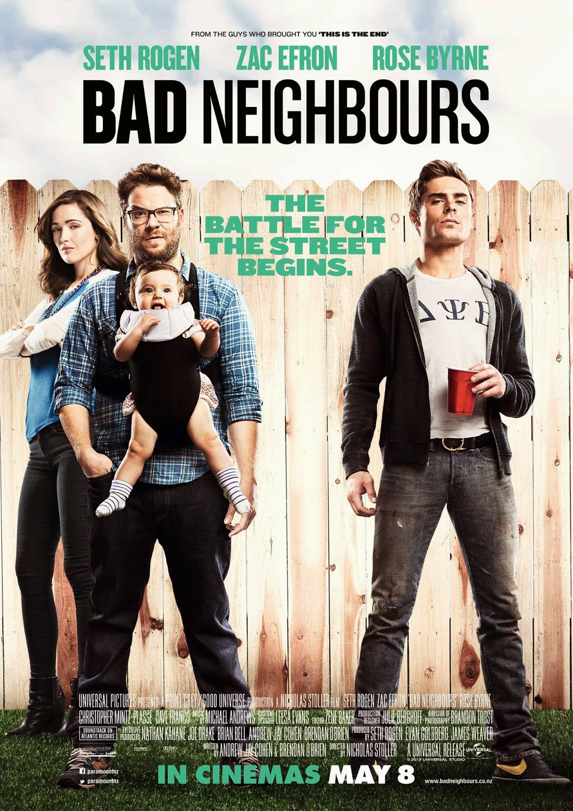 Movie review Bad Neighbours
