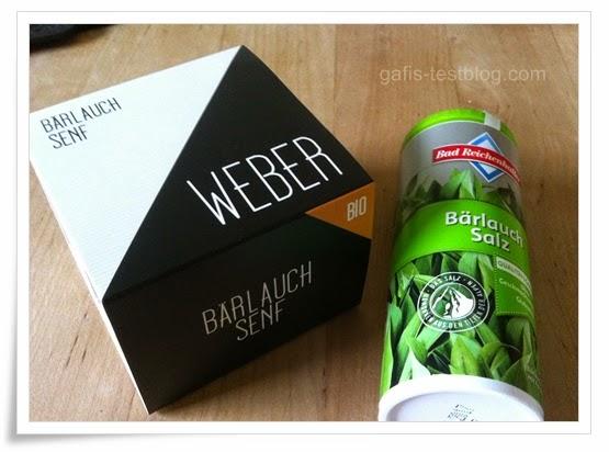 Weber Bärlauch Senf , Bad Reichenhaller Bärlauch Salz