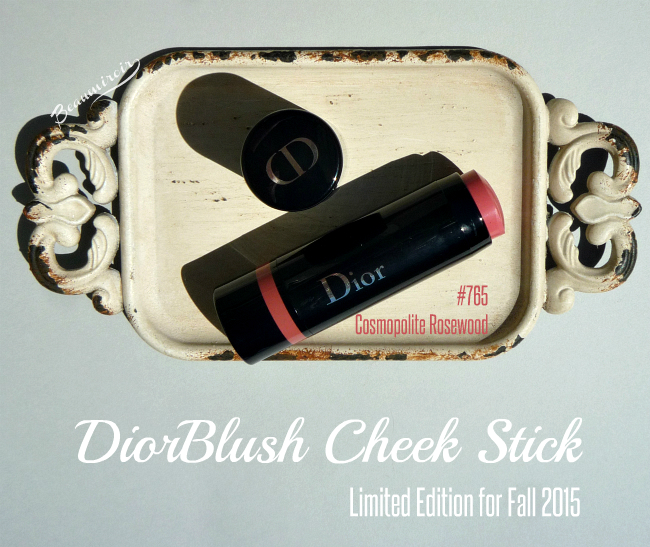 DiorBlush Cheek Stick in Cosmopolite Rosewood: photos, swatches, review