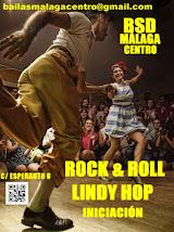 CURSO DE ROCK&ROLL Y LINDY HOP INICIAL EN JUNIO Y JULIO EN BSD MÁLAGA CENTRO.
