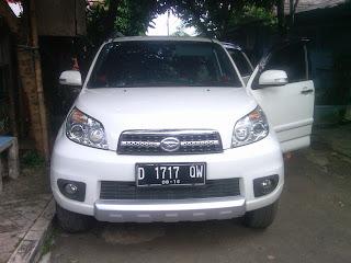 Pengiriman Daihatsu terios D 1717 QW Jakarta ke Banjarmasin