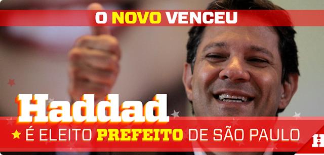 O novo venceu em São Paulo: