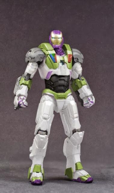 Figura MashUp Iron Man vs. Buzz LightYear