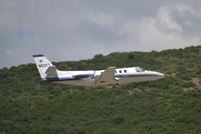 Cessna S550 Citation Departs Aspen