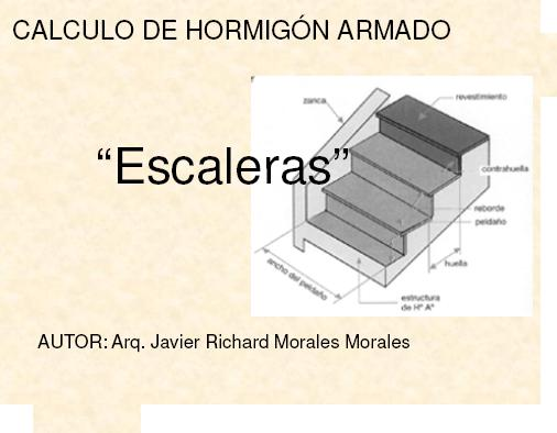 Calculo de escaleras pdf medidas de cajones de for Como calcular una escalera