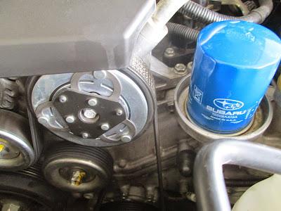 Compressor A/C Subaru XV Lokasi Dan Detail