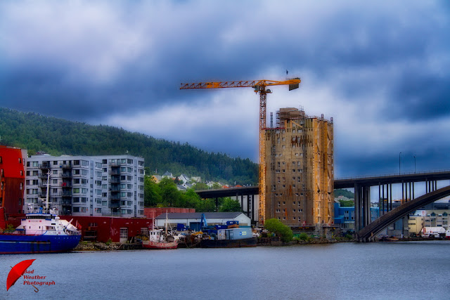 Tallest wood building Bergen