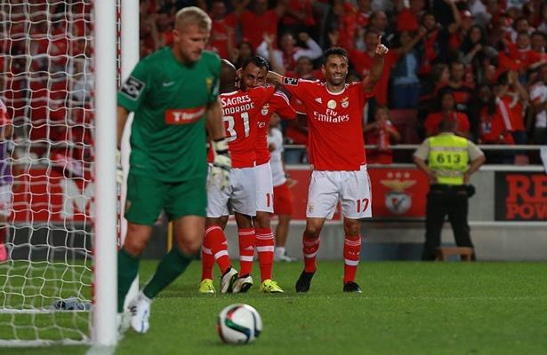 Benfica 4 x 0 Estoril - Campeonato Português 2015/16