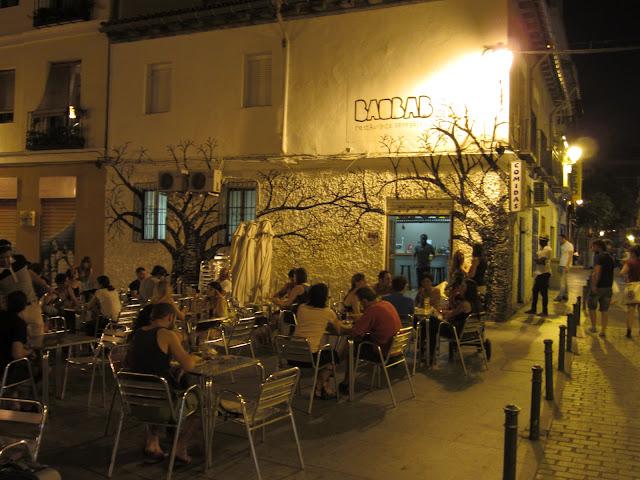 Terraza restaurante Baobab