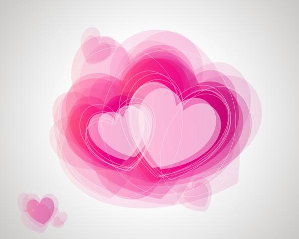 Membuat Efek Abstrak Valentine dengan Photoshop.