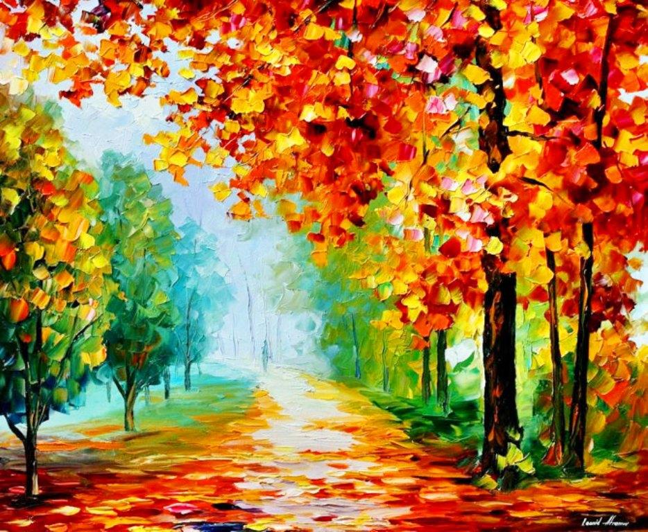Pintura moderna y fotograf a art stica galeria pinturas - Cuadros con colores calidos ...