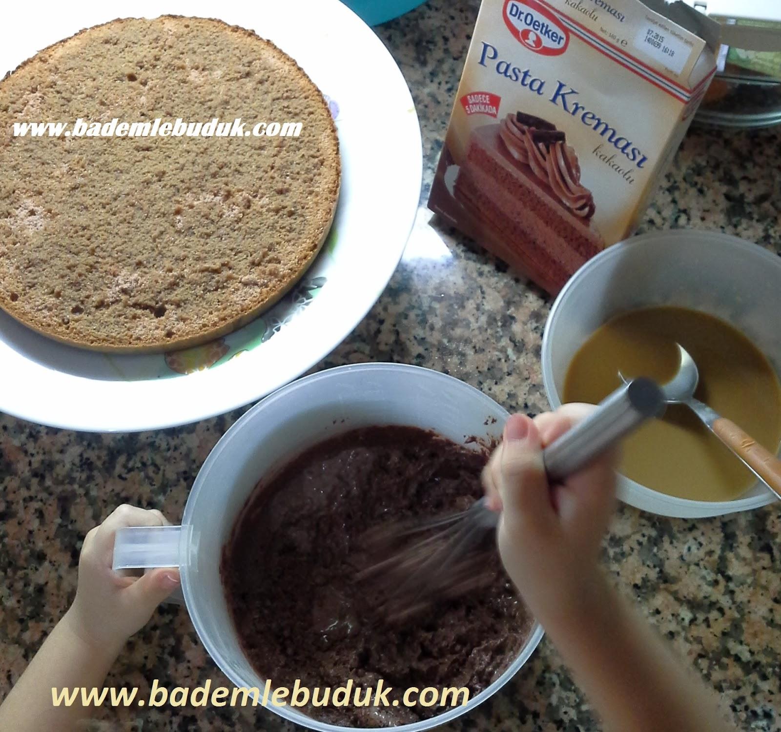 pasta kreması hazırlama