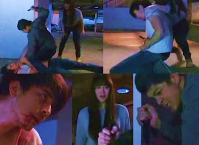 The controversial bloddy fight scene between Daniel and Nathan in Walang Hanggan