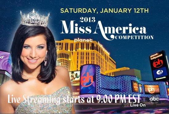 Watch Miss America 2013 Live Streaming Online