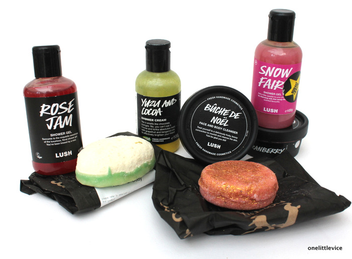 onelittlevice beauty blog: Lush product collection